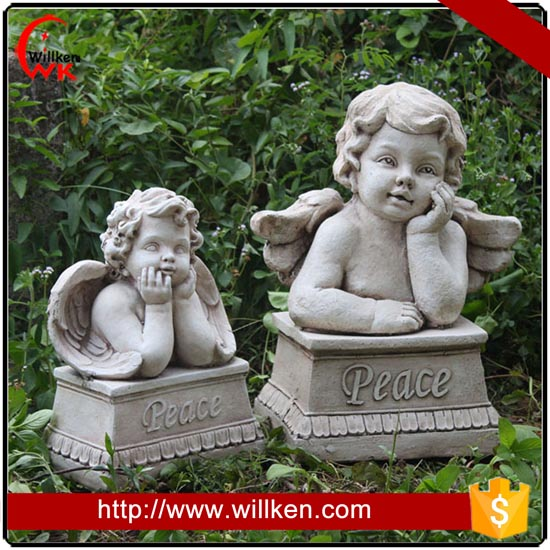 Reading Girl Statue Concrete Garden Decoration For Sale