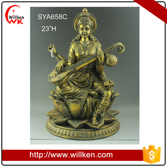 Wholesale newest decorative antique Indian God brass ganesh